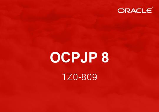 OCPJP 8 Exam