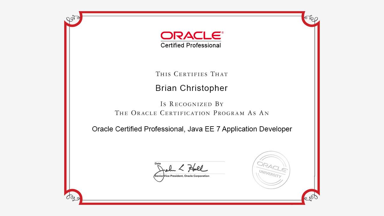 Java Developer Certification Course Best Photos And Description