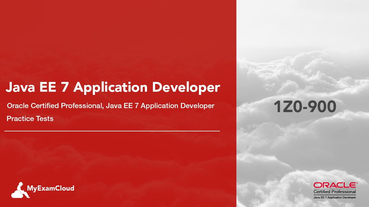 Java Ee 7 Application Developer Practice Tests 1z0 900 Simulator