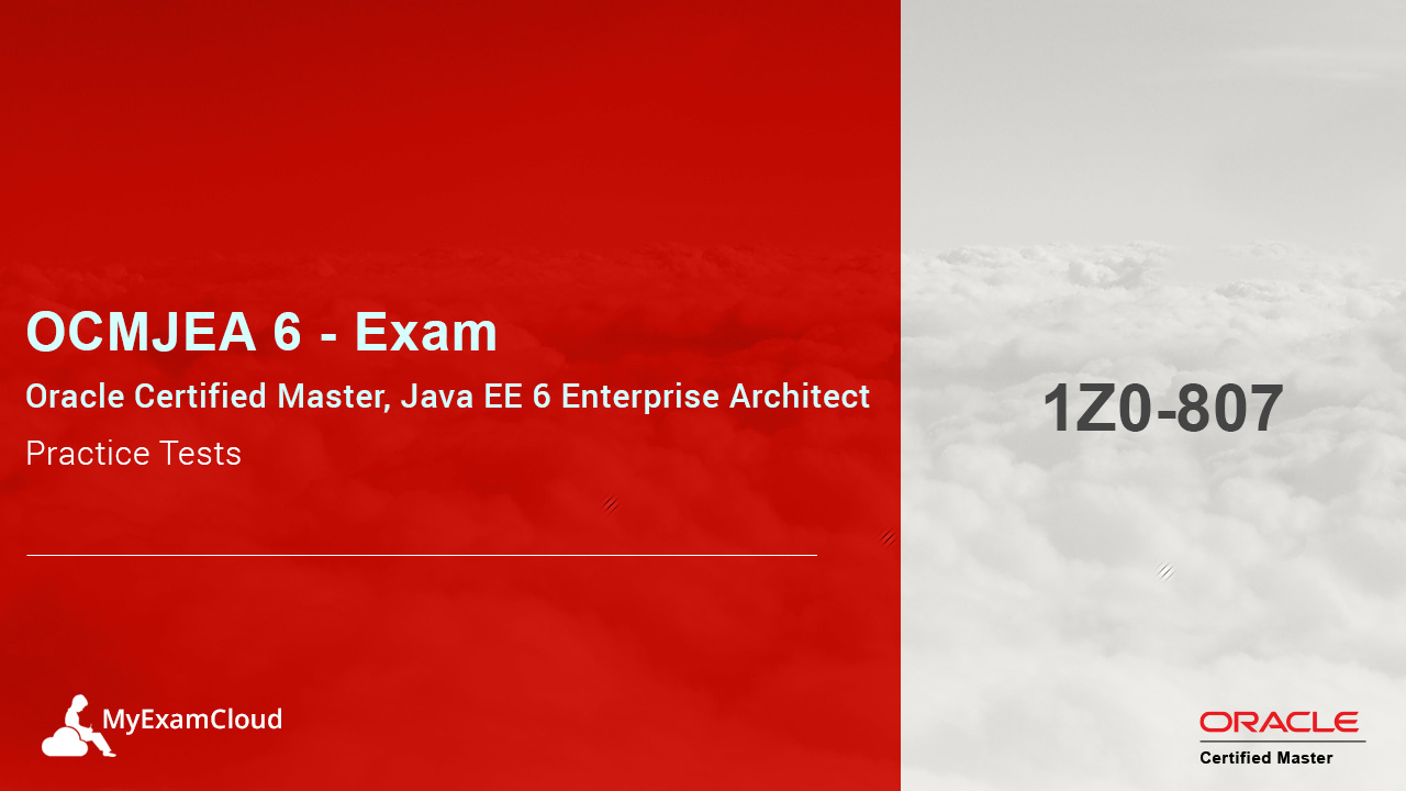 Ocmjea Practice Tests Ocm Java Ee 6 Architect Certification 1z0