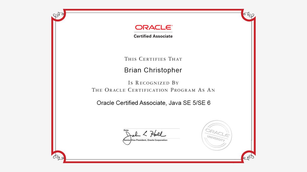 Ocaj 6 Practice Tests Java Se 5 And 6 Certified Associate 1z0 850
