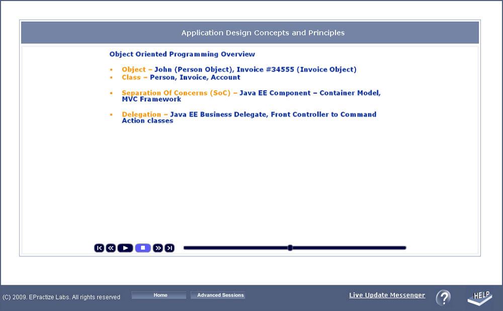 Java 7 Training Lab: structure (Associate Certification
