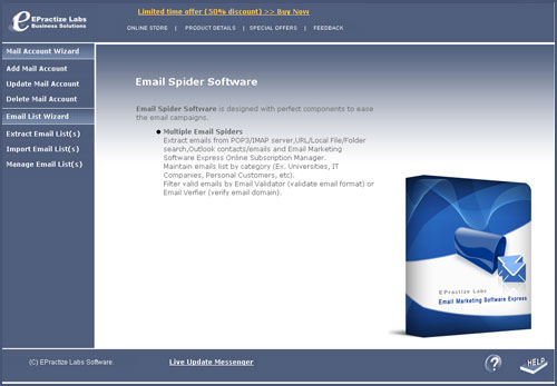 Email Spider Software