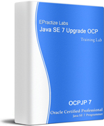 Upgrade to Java SE 7 OCP Certification Training Lab boxshot