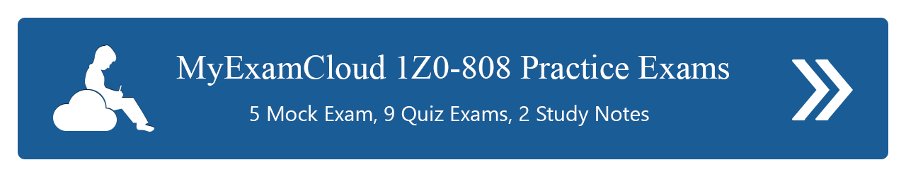 1Z0-808 Practice Exams