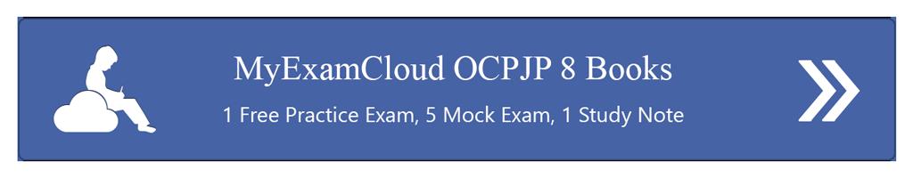 MyExamCloud OCPJP 8 Books