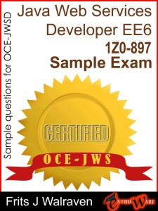 amazon oracle certified expert java ee 6 web services developer preparation books