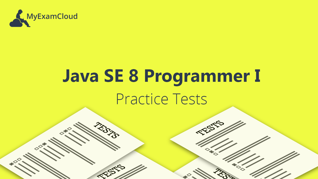 java exam 1 practice test Java se 7 programmer i - sample questions and writing style of questions that will be found on the exam sample questions may not cover the full spectrum of.