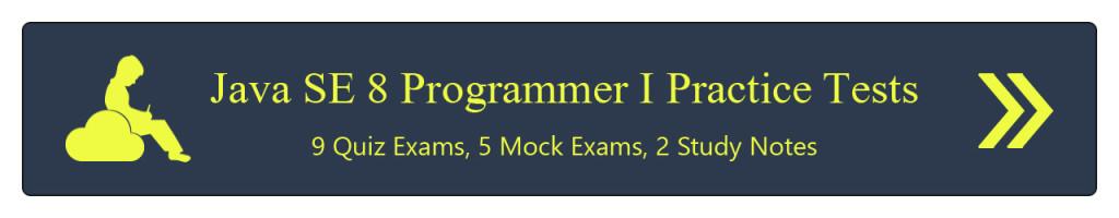 MyExamCloud-Java-SE-8-Programmer-I-Practice-Tests