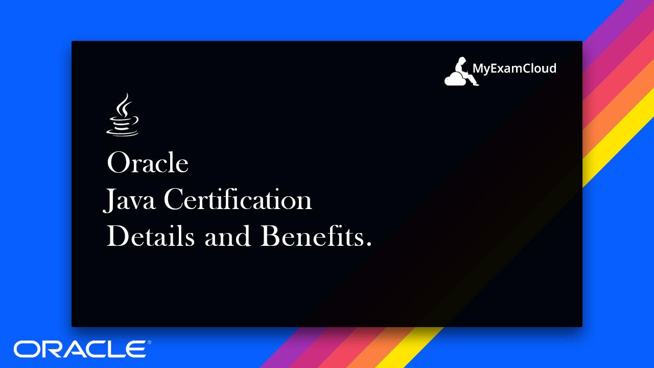 Oracle Java Certification Myexamcloud