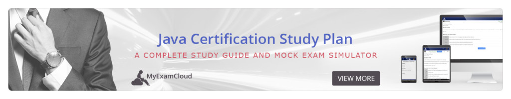 java certification study guide practice exams