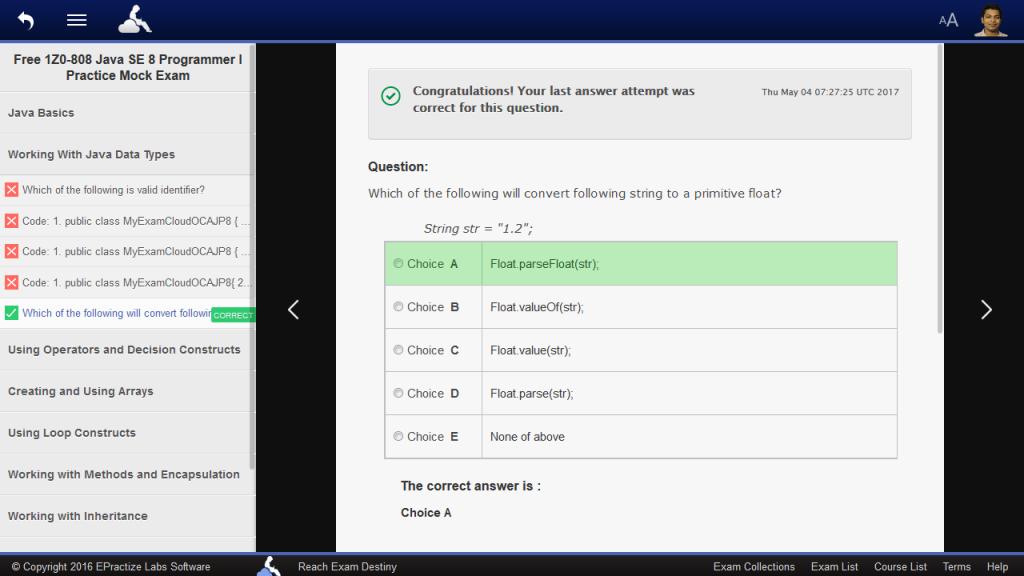 java se 8 programmer ii sample ebook screen