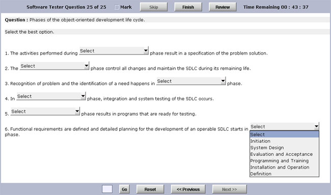 Click to view Test Generator Software Standard Edition 6.0 screenshot